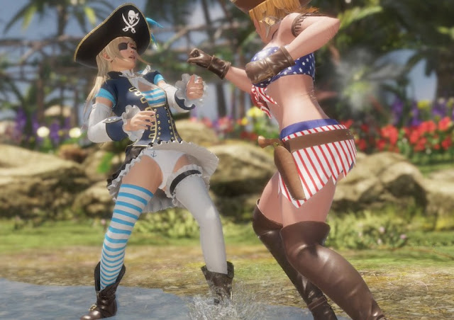 Video Dead Or Alive 6 Gets Sexy Pirate Costumes -1384