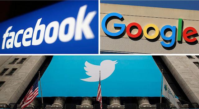 GOOGLE ، FACEBOOK ، TWITTER سايشهدون في الأسبوع المقبل على العنف ، والمحتوى عبر الإنترنت المتطرف