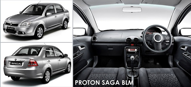 Model Kereta Proton Saga BLM