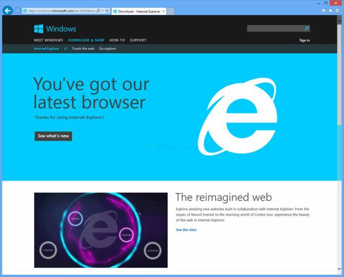 تحميل برنامج انترنت اكسبلور internet explorer 11 download ...