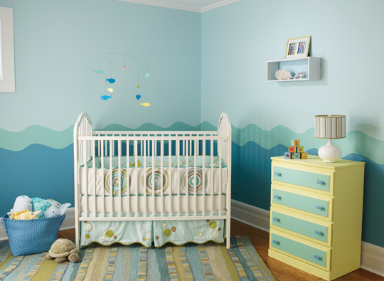 Factory Paint & Decorating: Color Filled Nurseries