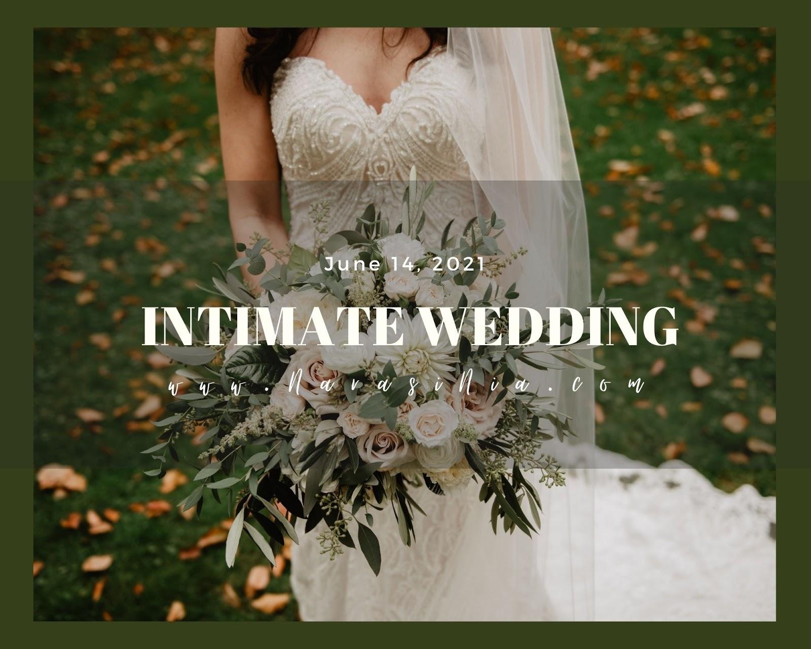 Tips Intimate Wedding
