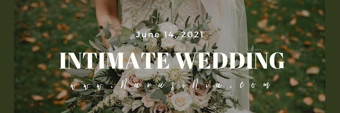 Tips Sukses Gelar Intimate Wedding Saat Pandemi