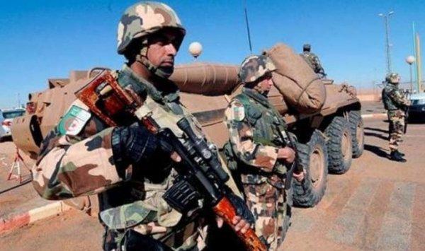 الجيش الجزائري يحبط عملية تهريب 3.22 طن من المخدرات المغربية قرب تندوف.