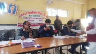 दिव्यांग जन विभाग जौनपुर द्वारा दिव्यांग कृत्रिम अंग के चिन्हीकरण हेतु शिविर आयोजित | #NayaSaberaNetwork