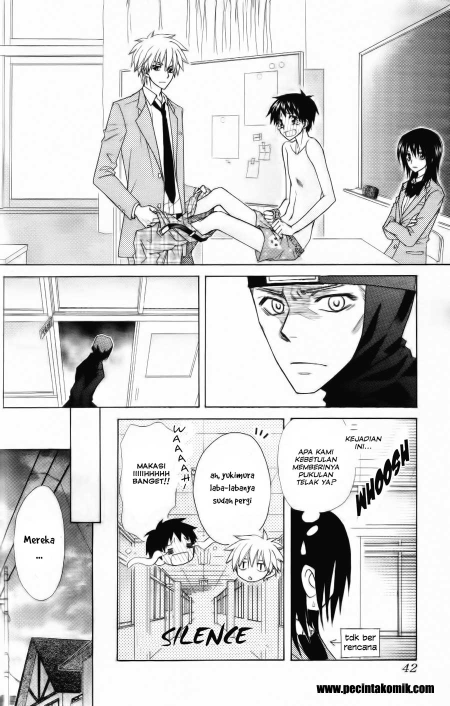 Kaichou Wa Maid Sama Chapter 53-22