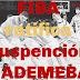 FIBA ratifica suspensión a ADEMEBA