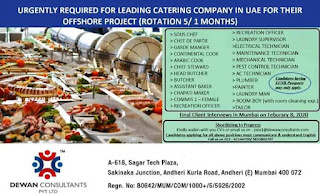Catering Company for Offshore Project in UAE