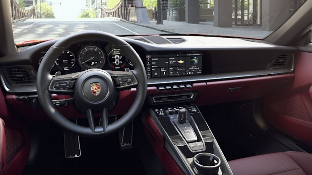 2021-porsche-targa-4s-interior-steering-wheel
