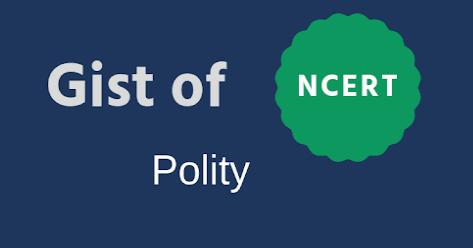 NCERT Polity Gist Notes PDF Download