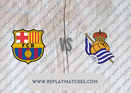 Barcelona vs Real Sociedad -Highlights 15 August 2021