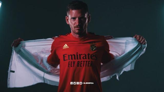 Jan Vertonghen Resmi Pemain Benfica