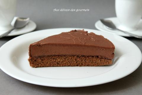 Aux Delices Des Gourmets Gateau Mousse Au Chocolat