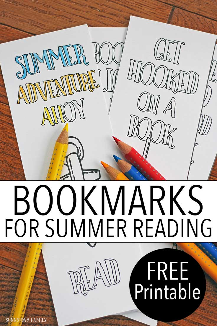 Dive into summer reading with these free printable bookmarks! Teens and adults will love to color these printable bookmarks - perfect for all your summer reading. And get a recommendation of a great summer read with the Theodore Boone series by John Grisham!