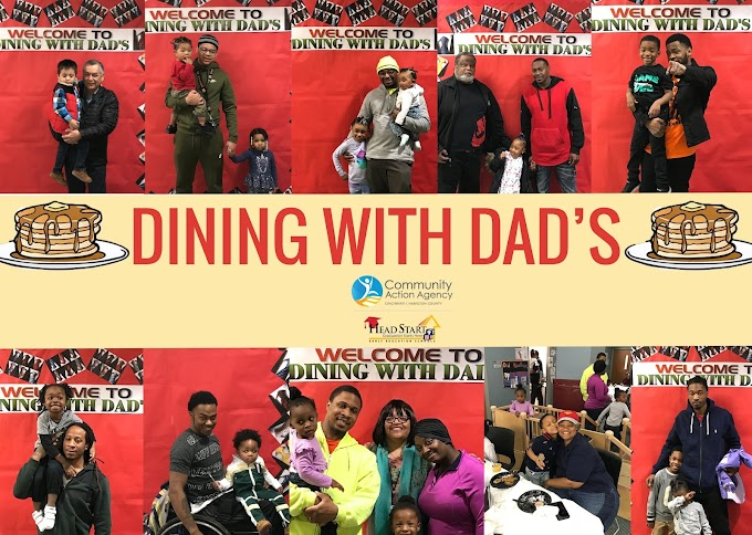 Dining With Dad's at CAA Head Start's Life Learning Center
