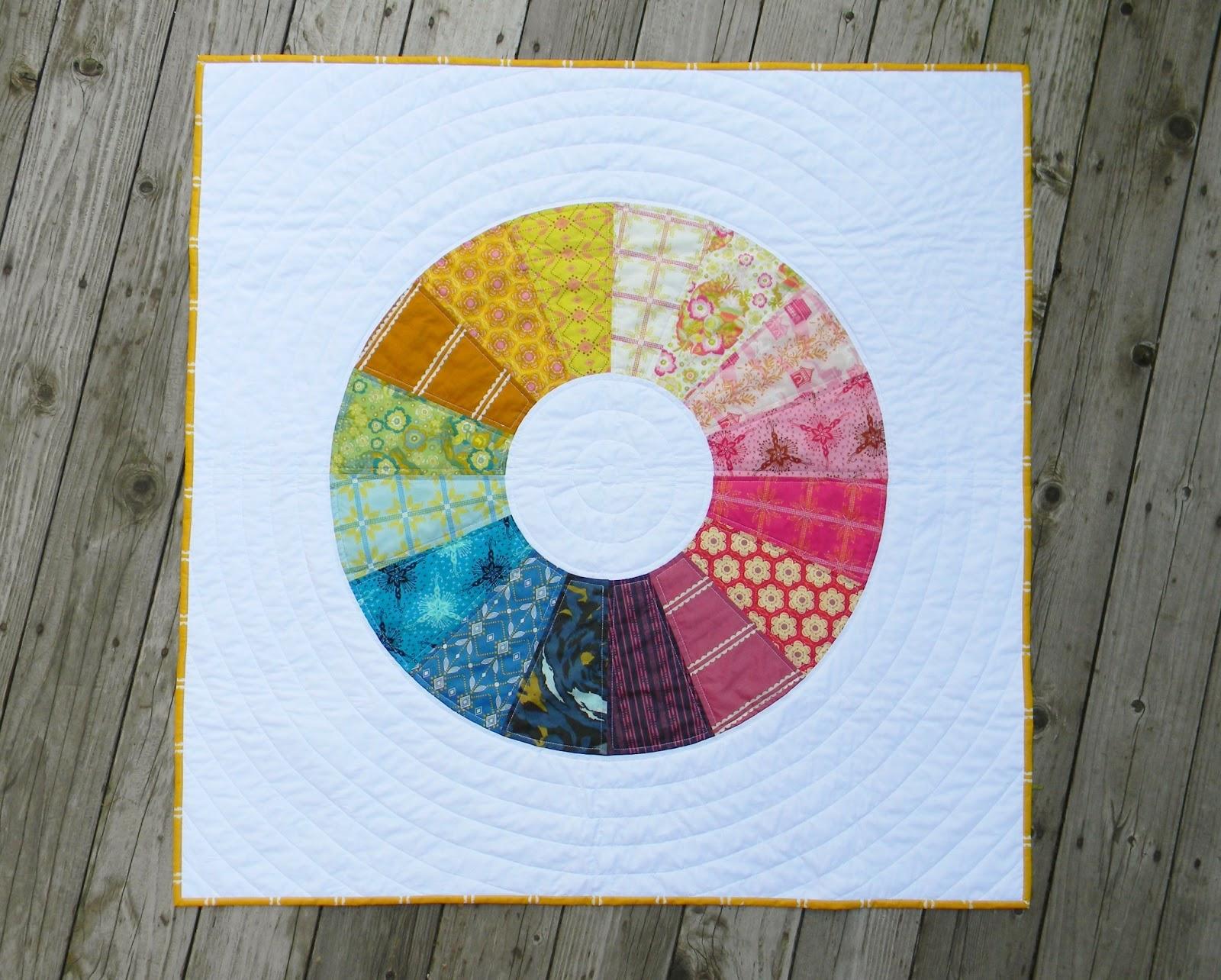 Color Wheel Quilt Tutorial