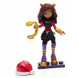 MH Advent Calendar Clawdeen Wolf Mega Blocks Figure