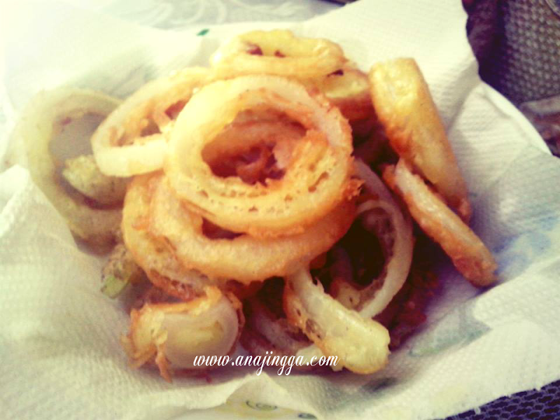Home Made Onion Ring