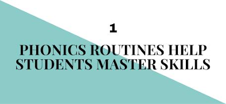 Why All Teachers Need Phonics Routines - iHeartLiteracy