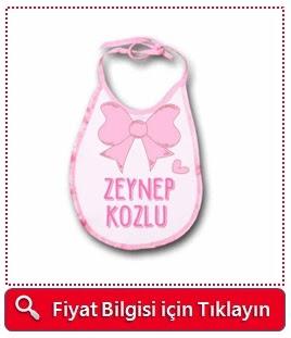 kız bebeklere özel mama önlüğü