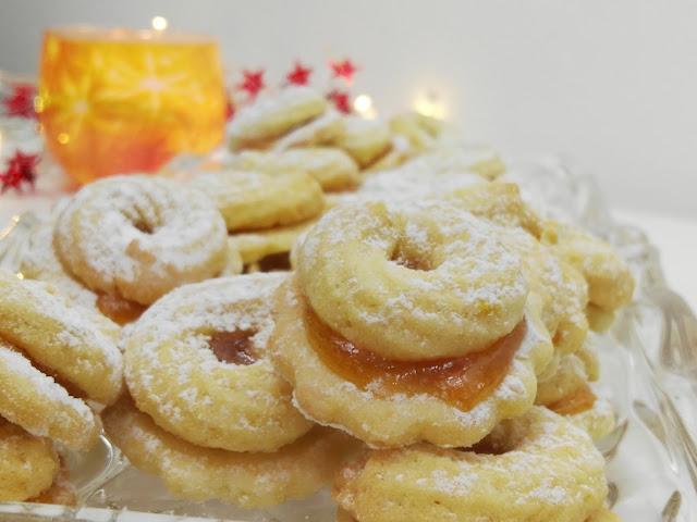 Weihnachtsplätzchen, Orangenmürbele