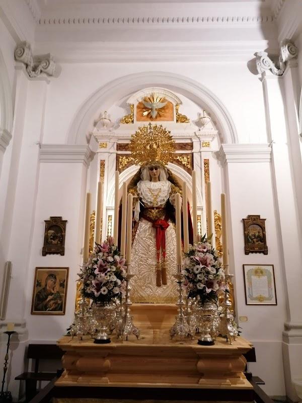 Rosario Vespertino de la Virgen del Amparo de Cádiz hoy