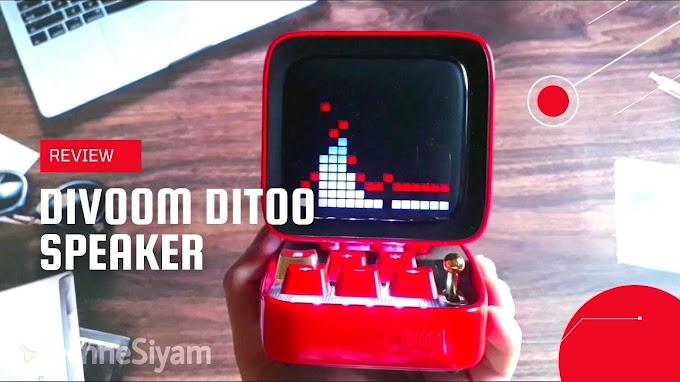 Divoom Ditoo: Visually Beautiful Speaker