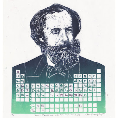 Dmitri Mendeleev and the Periodic Table by Ele Willoughby