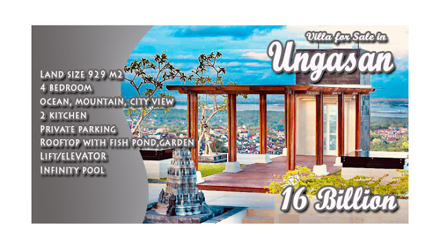 Brand New Villa For Sale In Ungasan Bali With Amazing Ocean Mountain And City View Bali Idr 16 000 000 000 Devata Agung Property