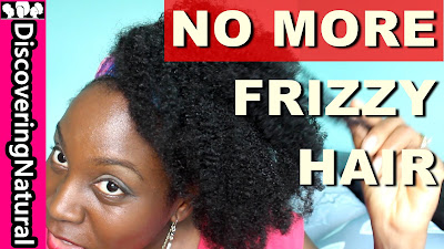 BEST WAYS TO GET RID OF FRIZZY HAIR | Natural Hair | Frizz Fighting Products