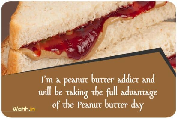 National Peanut Butter and Jelly Day Wishes In Hindi