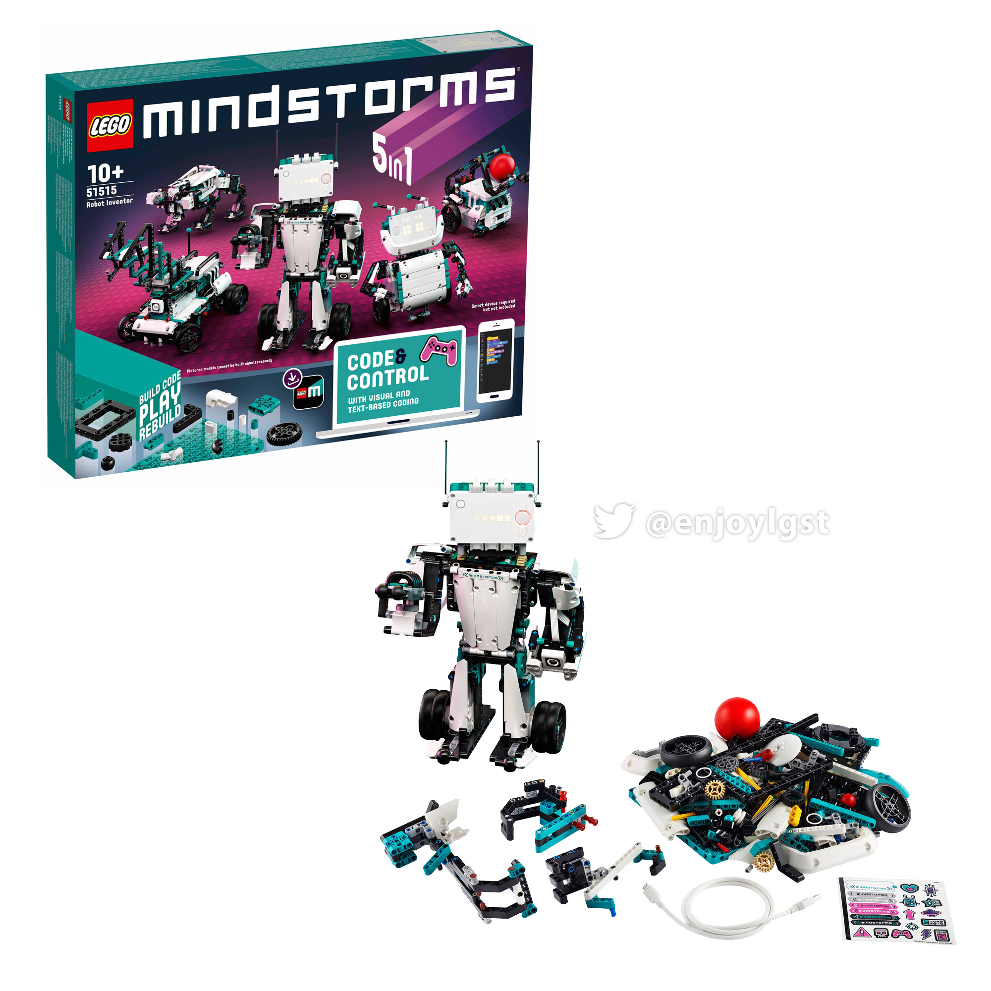 レゴ(LEGO) マインドストーム レゴ(R) ロボット・インベンター 51515