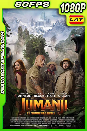 Jumanji: El siguiente nivel (2019) 1080p 60FPS BDrip Latino – Ingles
