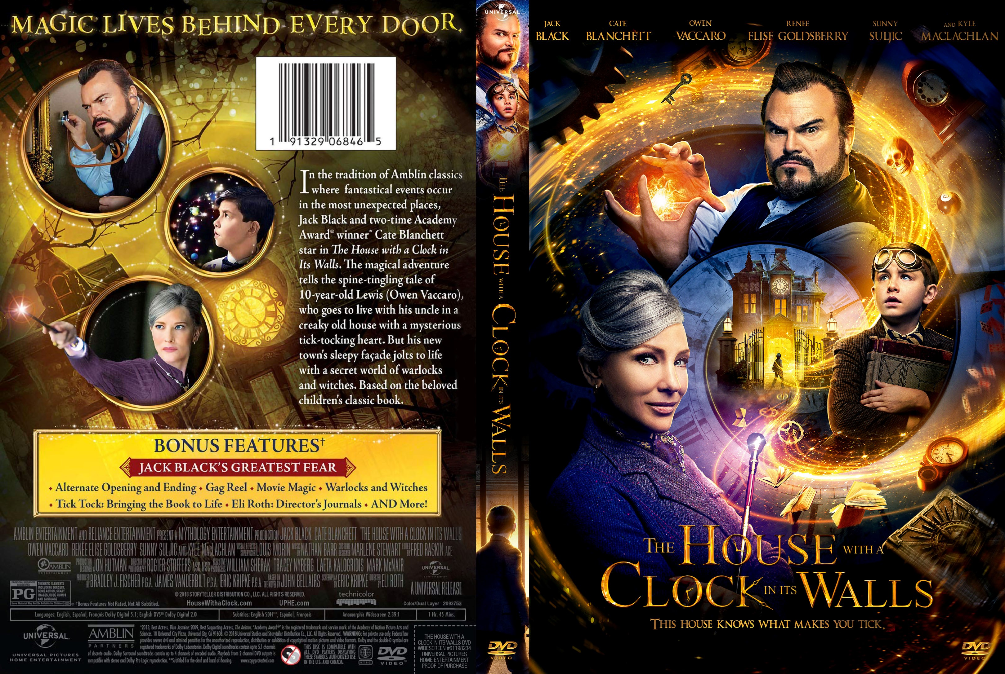 The House with a Clock in Its Walls DVD Cover