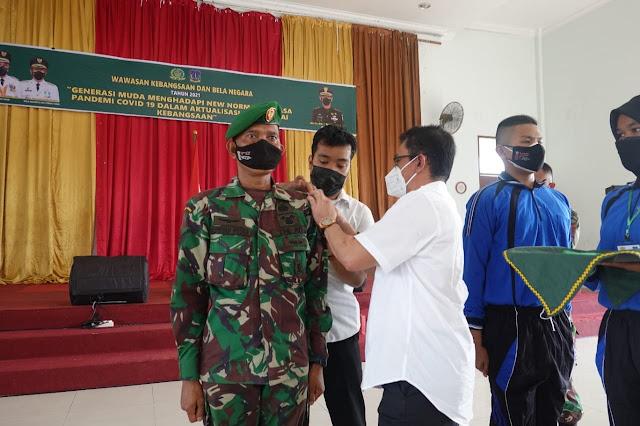 Wakil Walikota Tebingtinggi Membuka Kegiatan Wawasan Kebangsaan dan Bela Negara