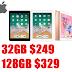 iPads on Sale! 32GB Latest Edition Apple iPad $249.99, 128GB $329.99 + Free Shipping