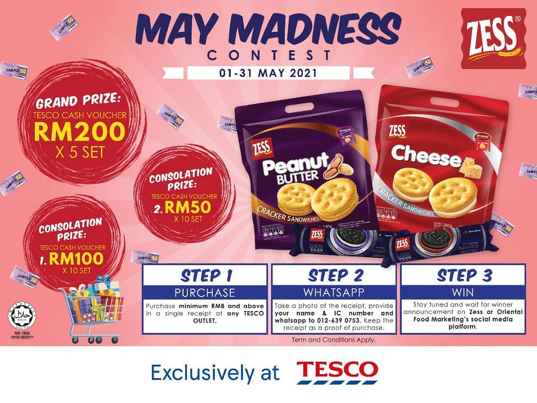 Zess: May Madness Contest