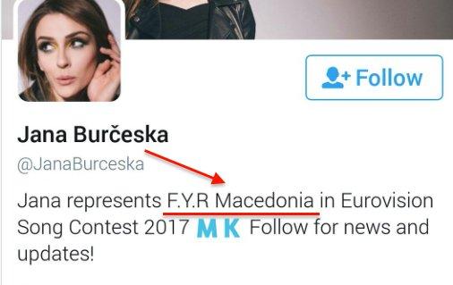 Mazedoniens Eurovision Kandidatin erntet Massenhaft Kritik und rudert zurück
