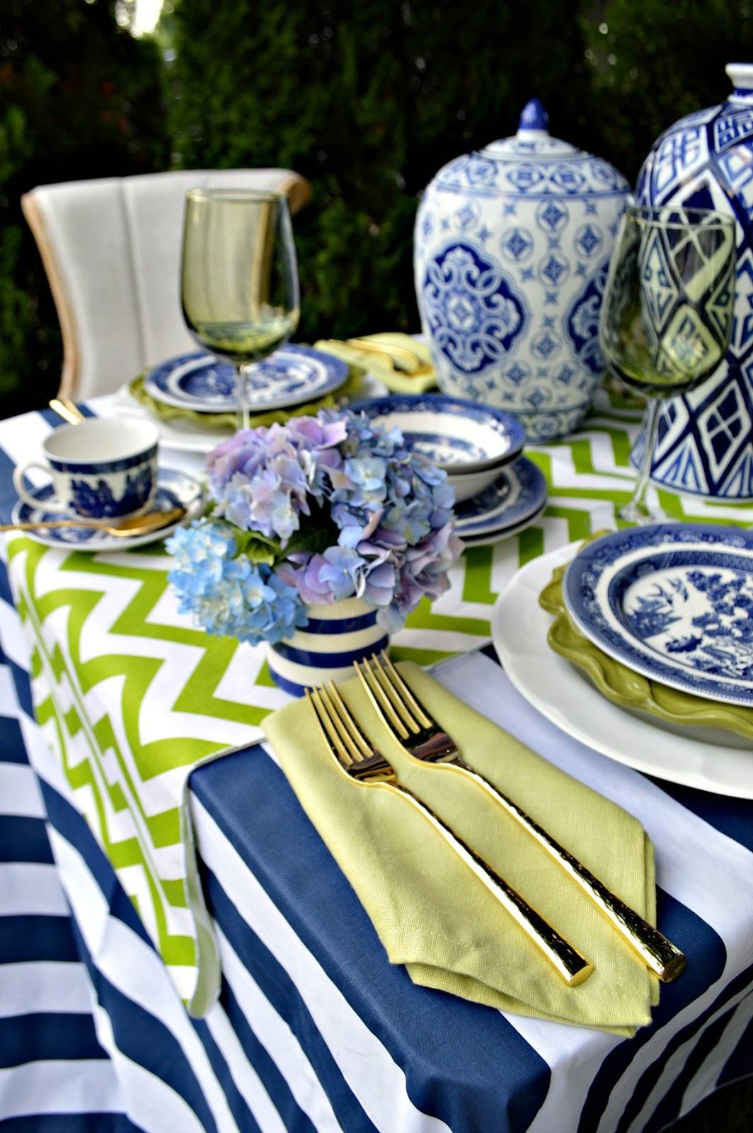 Summertime Tablescape Blog Hop