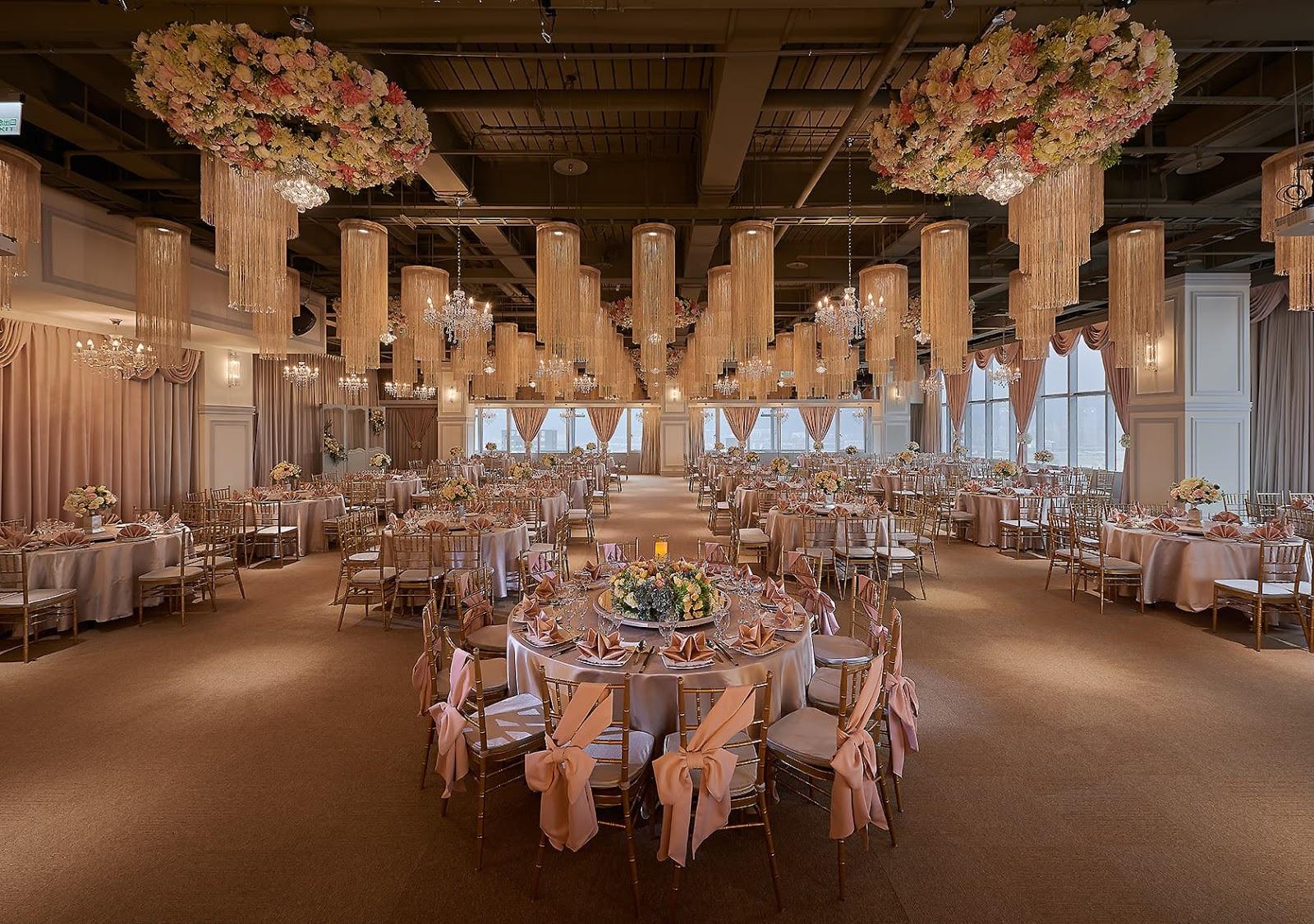 晶宴民權會館的香榭玫瑰園