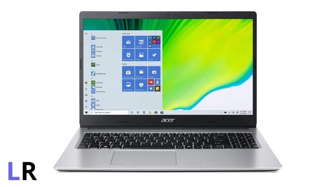 Acer Aspire 3 A315-23 laptop.