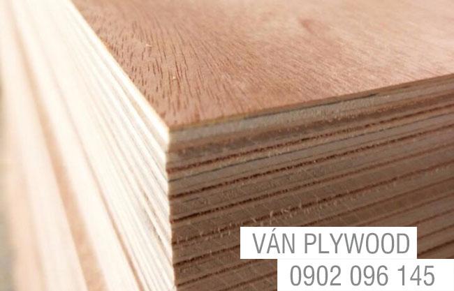 Ván ép plywood gỗ trần lai