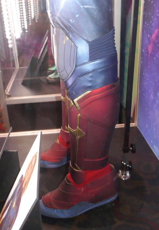 Captain Marvel movie costume boots