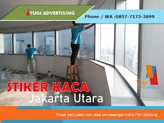 Stiker Kaca Jakarta Utara