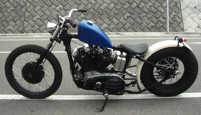 Harley Davidson By Gleaming Works Hell Kustom