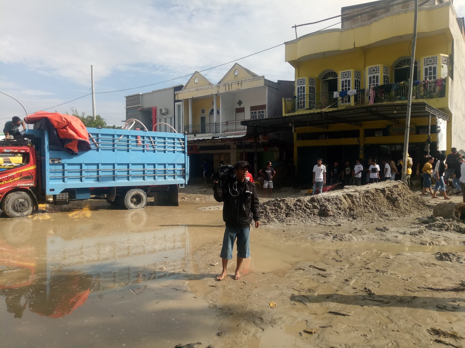 Kondisi Pasca Bencana Banjir Bandang di Luwu Utara