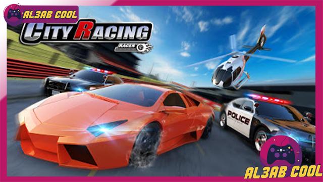 تحميل لعبة City Racing 3D MOD للأندرويد من الميديا فاير