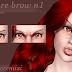 [ts4 conversion] Vampire Brow n1-2-3 by niobe cremisi