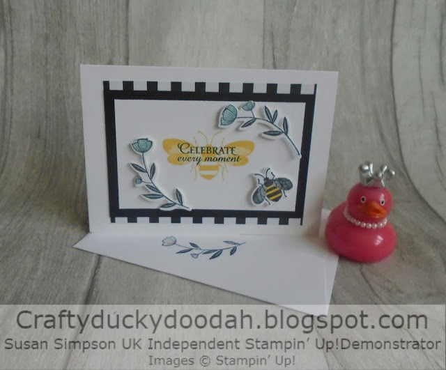 Craftyduckydoodah!, Honey Bee, Hopping Around The World, Susan Simpson UK Independent Stampin' Up! Demonstrator, Supplies available 24/7 from my online store, SAB 2020,