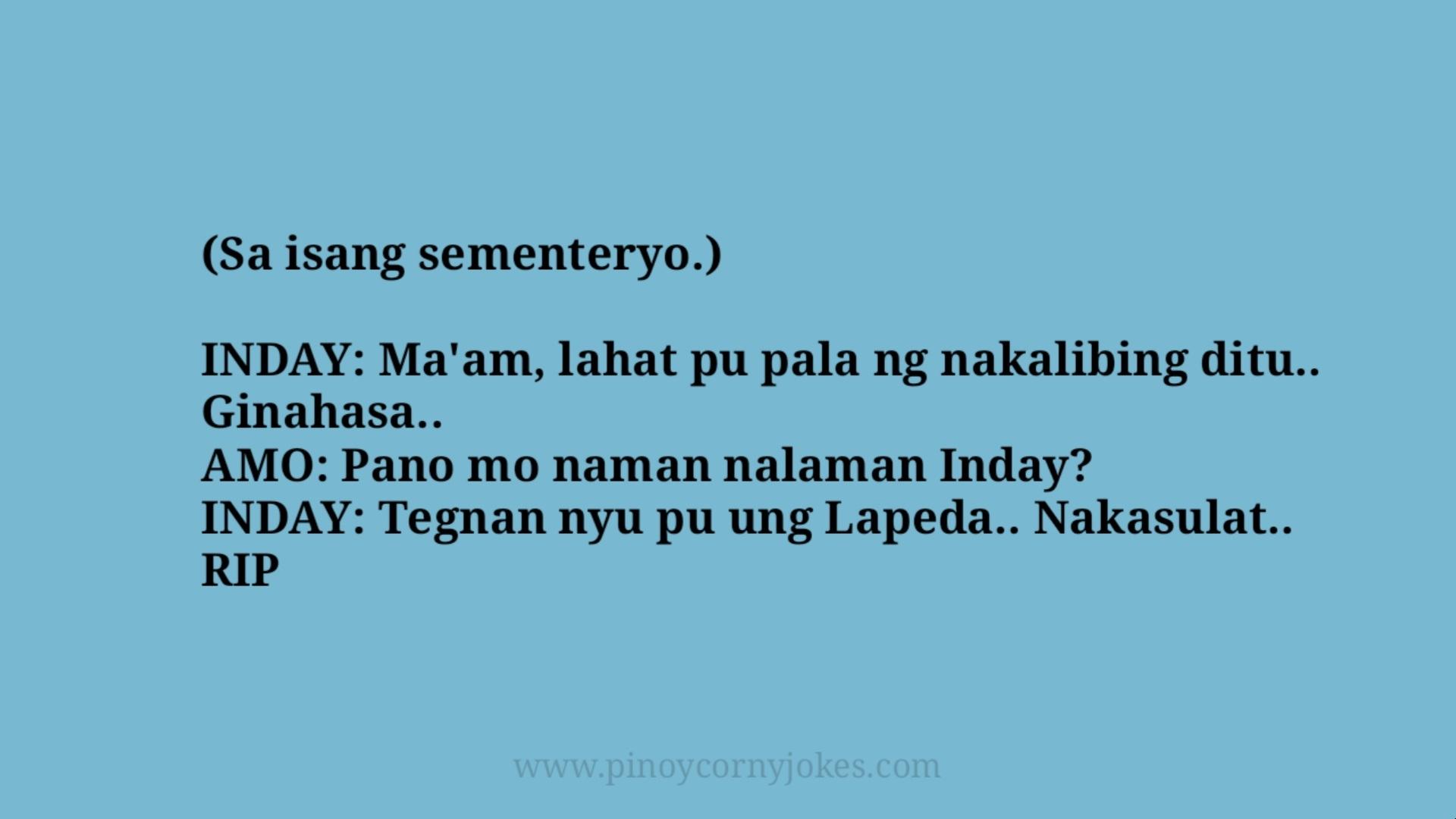 sementeryo best maid tagalog jokes 2021